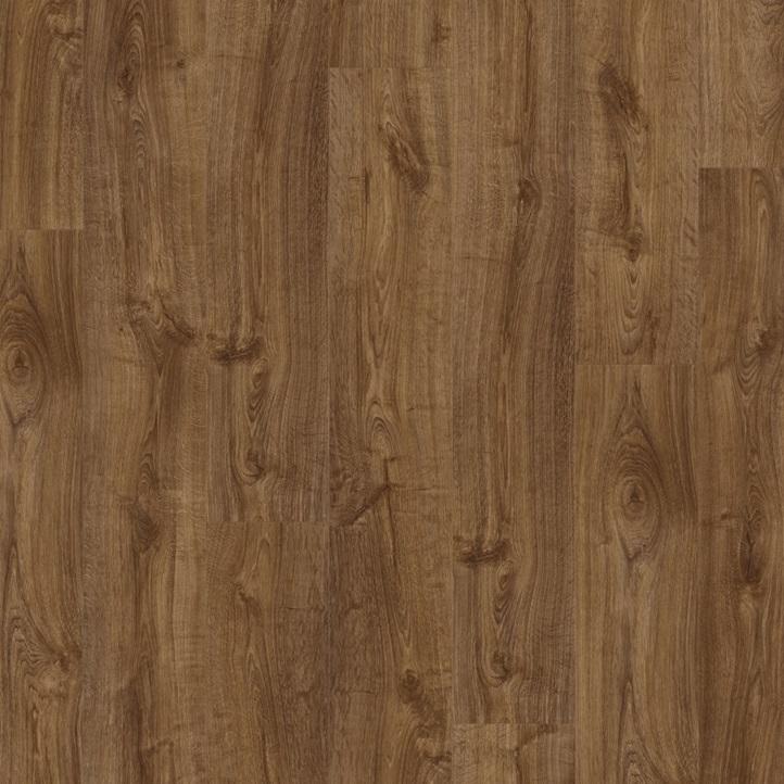 Виниловое напольное покрытие Quick-Step Pulse Click PUCL40090 Дуб осенний коричневый