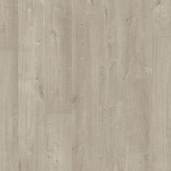 Виниловое напольное покрытие Quick-Step Pulse Click PUCL40105 Дуб хлопковый светло-серый