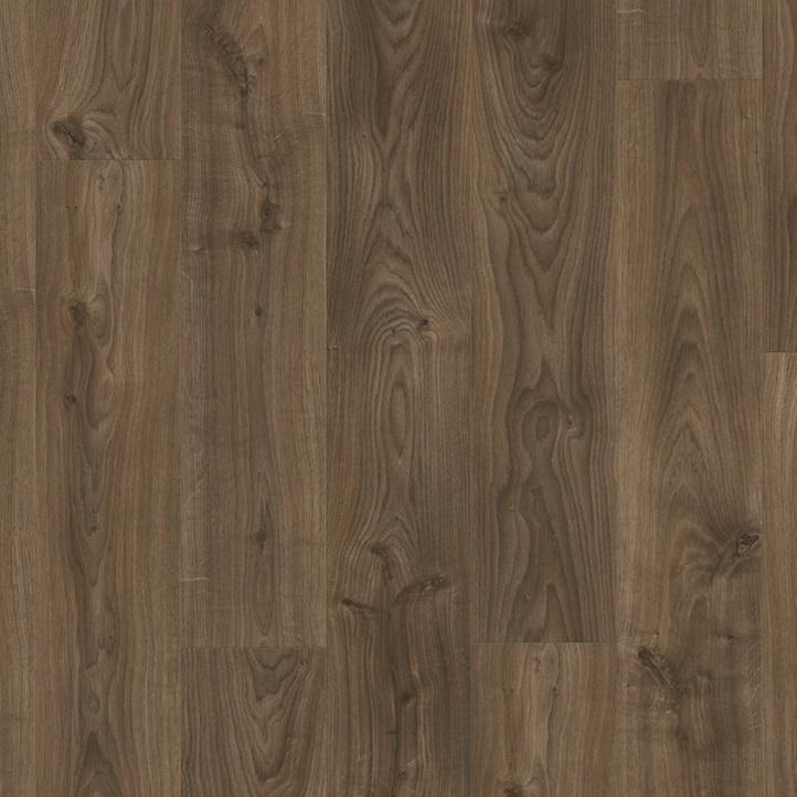 Виниловое напольное покрытие Quick-Step Balance Click BACL40027 Дуб коттедж темно-коричневый